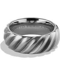 David Yurman Modern Cable Band Ring - Lyst