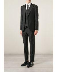 Dolce & Gabbana Classic Three-Piece Suit black - Lyst