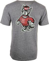 Adidas Mens North Carolina State Wolfpack Tri-blend Graphic T-shirt - Lyst