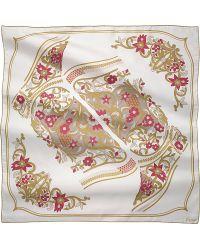 Cartier Jeanne Toussaint Silk Scarf - Lyst