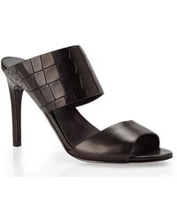 Charles by Charles David Black Incentive Mules - Lyst