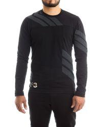 Y-3 | Stripes Ls T-shirt In Black | Lyst
