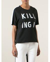 Zoe Karssen 'Killing It' Short Sleeve Sweatshirt - Lyst