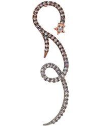 Katie Rowland - Selene Rose Gold-plated Earrings - Lyst