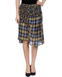 Zucca Knee Length Skirt - Lyst
