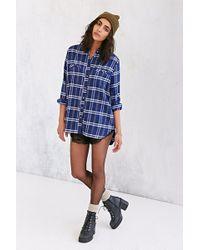 BDG Obie Flannel Button-Down Shirt - Lyst