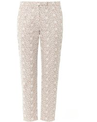 Freda - Evie Lace print Trousers - Lyst
