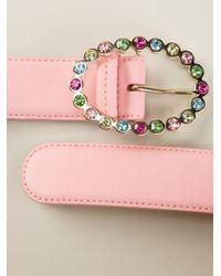 Boutique Moschino - Embellished Belt - Lyst