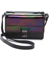3.1 Phillip Lim Holographic Pashli Mini Messenger Bag - Black - Lyst