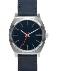 Nixon | Blue/orange Time Teller Watch | Lyst
