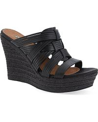 Ugg Melinda Wedge Sandals - For Women - Lyst