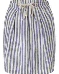 Harris Wilson - Nanoshi Stripe Skirt - Lyst