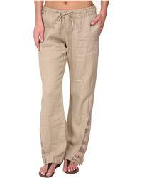 La Blanca | Linen Pants Cover-Up | Lyst