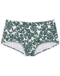 Tory Burch Green Issy Bottom - Lyst