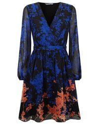 Diane von Furstenberg - Celia Floral Dress - Lyst