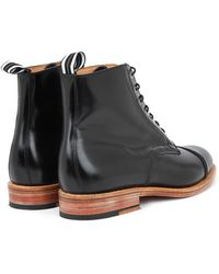 Oliver Spencer - Leather Oxford Boots - Lyst