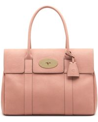 Mulberry Bayswater pink - Lyst
