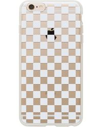 Equipment - Garance Doré Clear Checkers Iphone 6 Plus Case - Lyst