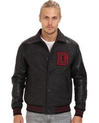 Diesel Black Ldayan Jacket - Lyst