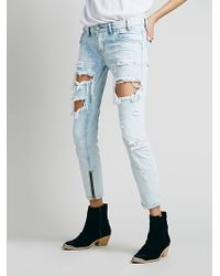 Free People Free Bird Straight Leg - Lyst