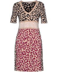 Antonio Berardi Short Dress pink - Lyst