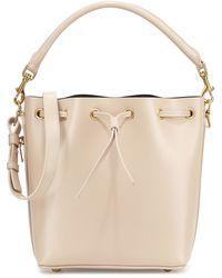 Saint Laurent Double-Face Medium Bucket Bag - Lyst