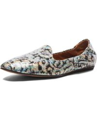 Lanvin Brocade Coated Fabric Slippers - Lyst