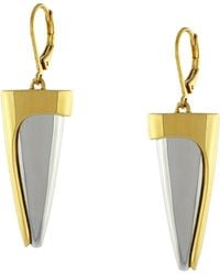 Vince Camuto Spike Lever Back Drop Earrings - Lyst