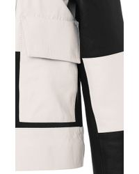 Sonia Rykiel - Sonia By Striped Leather Jacket - Lyst