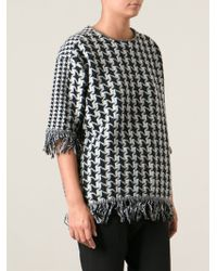 Stella McCartney Star Print Sweater - Lyst