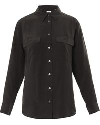 Equipment Signature Washed Silk Shirt - Lyst