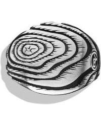 David Yurman Iron Wood Signet Ring - Lyst