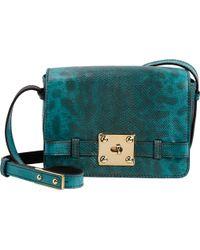 Zagliani Giulietta Box Shoulder Bag - Lyst