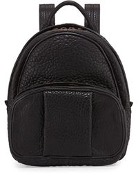 Alexander Wang Womens Dumbo Leather Backpack - Lyst