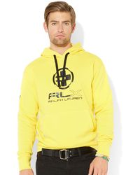Ralph Lauren Lightweight Fleece Hoodie - Lyst