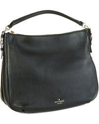 Kate Spade Ella Leather Large Crossbody Bag - Lyst