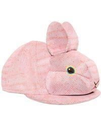 Vivetta - Rabbit Neoprene Baseball Hat - Lyst