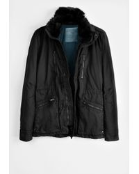 Zadig & Voltaire Man Parka Army Wax - Lyst