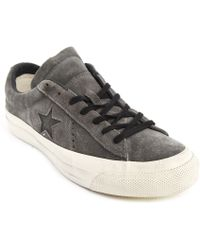 Converse John Varvatos One Star Grey Ox Suede - Lyst