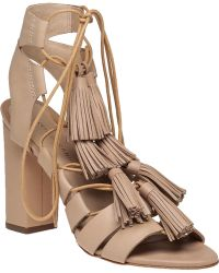 Loeffler Randall | Luz Tasseled Leather Sandals | Lyst