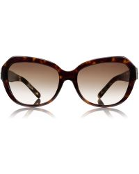 Tory Burch Geo Cateye Sunglasses - Lyst