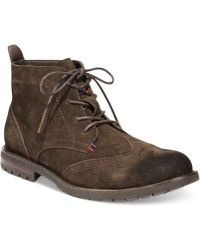 Tommy Hilfiger Tommy Hilifger Barnet Boots - Lyst