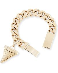 Givenchy Textured Shark Tooth Bracelet - Lyst