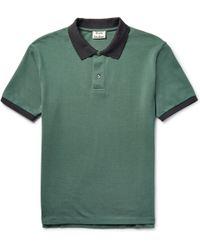 Acne Studios - Kolby Slim-fit Cotton-piqué Polo Shirt - Lyst
