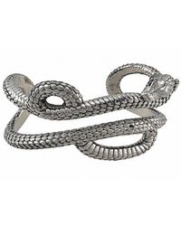 Theo Fennell - Women's Alias Large Mamba Sterling Silver Cuff - Lyst