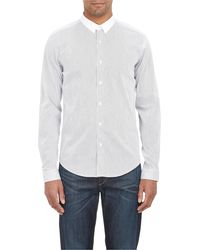 Theory Stephan Fine Stripe Shirt - Lyst
