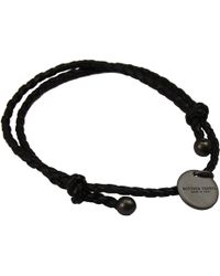 Bottega Veneta Bijoux Bracelet Braided Regolabile - Lyst