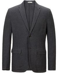 Onassis Clothing Linen Blazer - Lyst