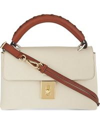 Chloé Fedora Small Leather Satchel Bag - For Women - Lyst