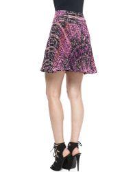Nanette Lepore Pleated Skirt - Lyst